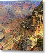 Amazing Colors Of The Grand Canyon  Metal Print