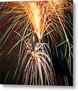 Amazing Fireworks Metal Print by Garry Gay