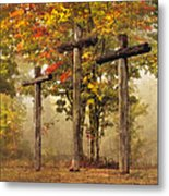 Amazing Grace Metal Print by Debra and Dave Vanderlaan