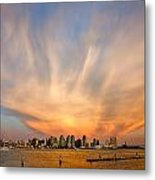 Amazing San Diego Sky Metal Print by Peter Tellone