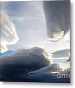 Amazing Skies Over Puerto Natales Chile Metal Print