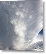 Amazing Storm Clouds Metal Print