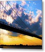 Ambassador Bridge Metal Print