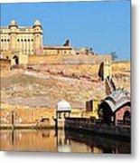 Amber Fort - Jaipur India Metal Print
