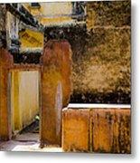 Amber Fort Metal Print