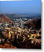 Amber Palace - Jaipur- Rajasthan- Viator's Agonism Metal Print