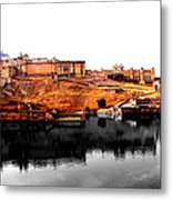 Amber Palace - Jaipur- Viator's Agonism Metal Print