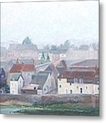 Amboise And The Loire River France Metal Print