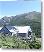 Amc Greenleaf Hut Metal Print