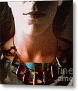 Amelia Portrait Metal Print