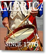 America Since 1776 Metal Print