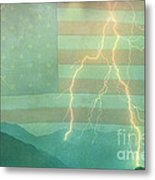 America Walk The Line  Metal Print by James BO  Insogna