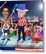 America Wins Metal Print by Fred Makubuya