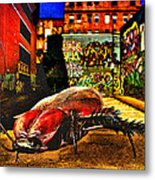 American Cockroach Metal Print