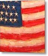 American Colours Metal Print