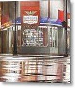 American Coney In Detroit At Night Metal Print
