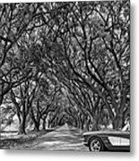 American Dream Drive 2 Bw Metal Print