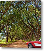 American Dream Drive 2 Metal Print