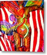 American Dream Metamorphosis Metal Print