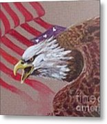 American Eagle Metal Print by Jean Ann Curry Hess