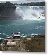 American Falls From Above The Maid Metal Print