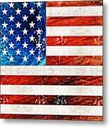 American Flag Art - Old Glory - By Sharon Cummings Metal Print