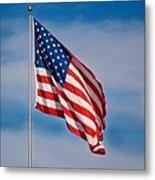American Flag Metal Print by Benjamin Reed