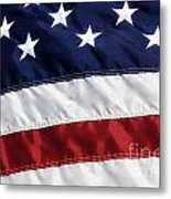 American Flag Metal Print by Jill Lang