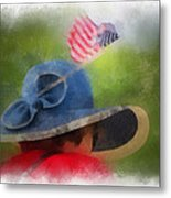 American Flag Photo Art 05 Metal Print