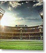 American Football Stadium Metal Print