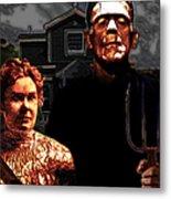 American Gothic Resurrection - Version 2 Metal Print