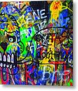 American Graffiti 15 - Crack Head Metal Print