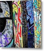 American Graffiti Metal Print