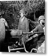 American Gunners Load A Shell Metal Print