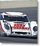 American Lemans Porsche Prototype Metal Print