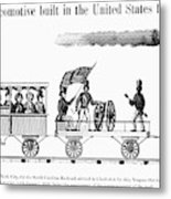 American Locomotive, 1830 Metal Print
