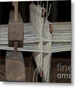 American Loom 3 Of 3 Metal Print