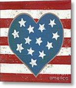 American Love Metal Print by Kristi L Randall