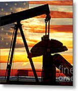 American Oil  Metal Print by James BO  Insogna