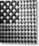 American Pastime In Black And White1 Metal Print