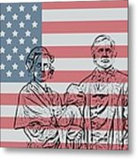 American Patriots Metal Print