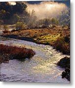 American River Confluence Metal Print
