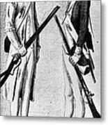 American Uniforms, 1784 Metal Print