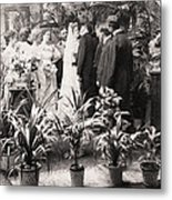 American Wedding, 1900 Metal Print