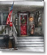 Americana - A Tribute To Rockwell - Westfield Nj Metal Print by Mike Savad