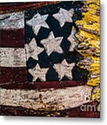 Americana - Stars And Stripes Metal Print by Dean Harte