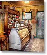 Americana - Store - At The Local Grocers Metal Print