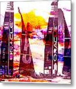 America's Cup Challenge Metal Print
