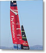 America's Cup Emirates Team New Zealand Metal Print