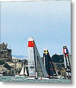 America's Cup World Series Metal Print